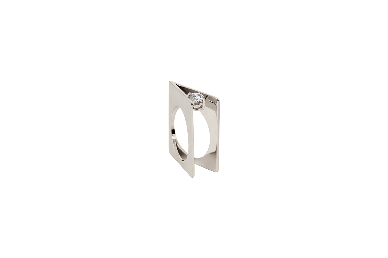 INTRINSIC RING WHITE GOLD 18K 0.25 CT DIAMOND