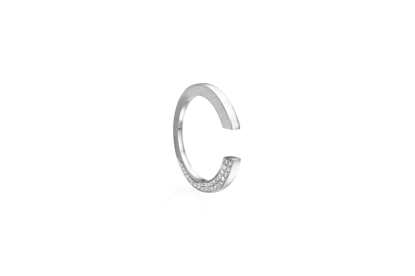 UNTITLED RING 18K WHITE GOLD 0.37 CT DIAMONDS