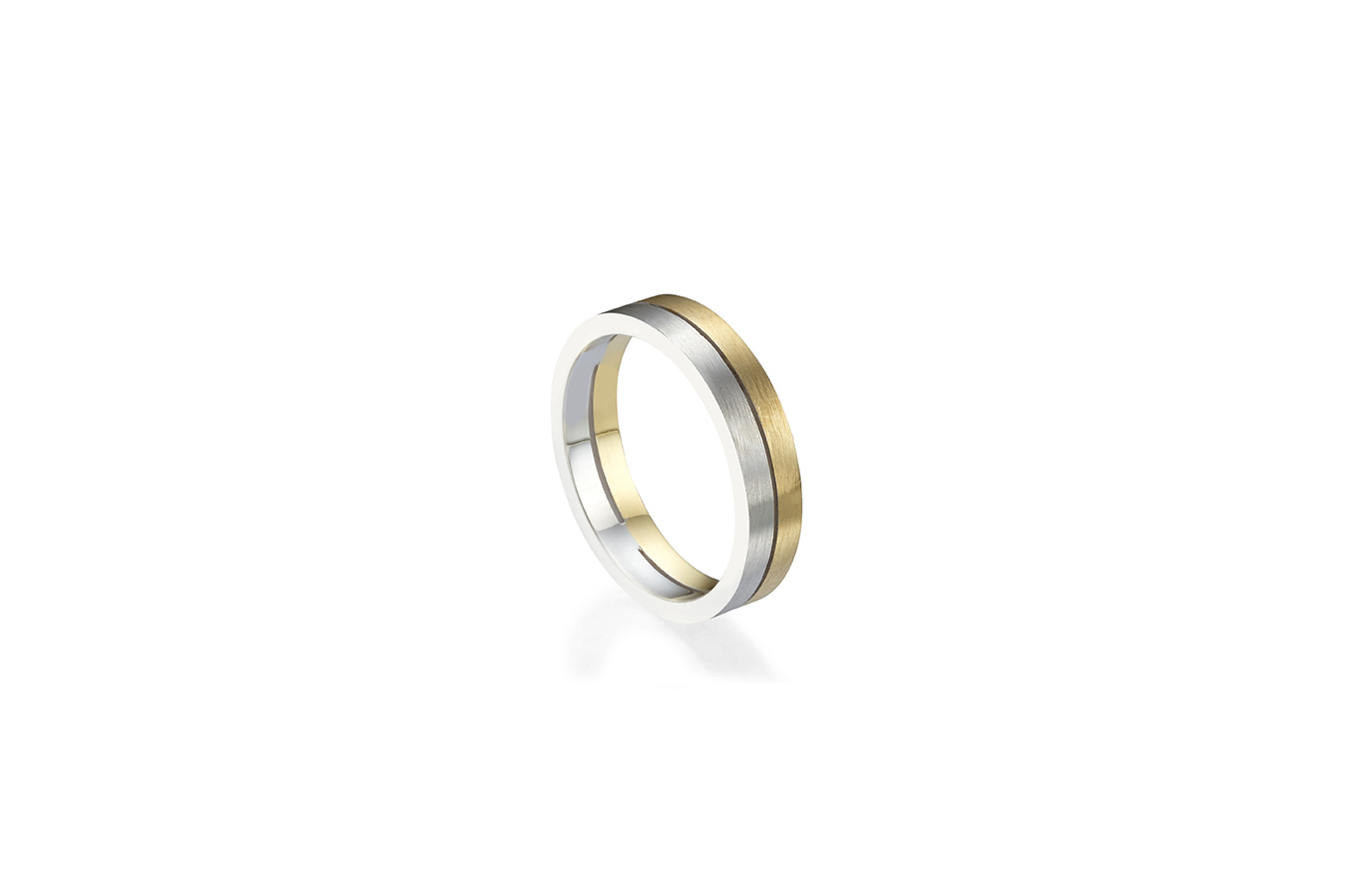 LUCIAN RING 18K WHITE & YELLOW GOLD